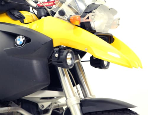Denali Auxiliary Light Mounting Bracket for BMW R1200GS '04-'12 & R1200GS Adventure '05-'13-19986