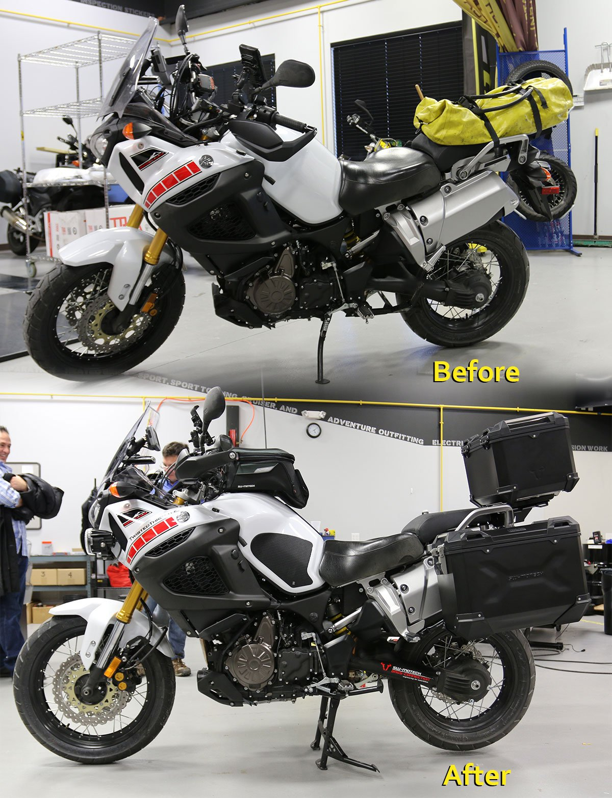 Yamaha Super Tenere Before After