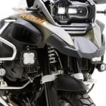 DENALI Light Mount for BMW R1200GS LC Adventure & R1250GS Adventure (Shown with DENALI D4 lights mounted – Sold separately)