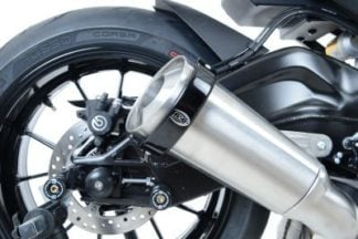 R&G Oval Exhaust Protector | Supermoto Style
