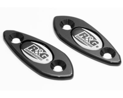 Motorcycle Mirror Block Off Plates