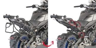 GIVI PLXR2143 Tubular Side Carriers for Yamaha Niken
