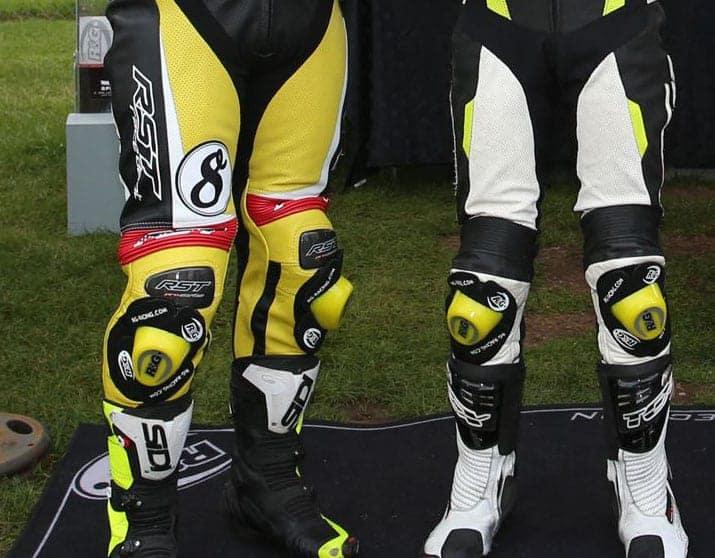 R&G Wider Aero Knee Sliders Yellow