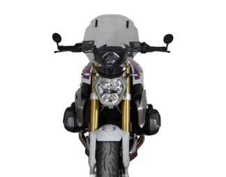 MRA Motorcycle Windshield BMW R1250R - VarioTouring Screen Smoke Gray