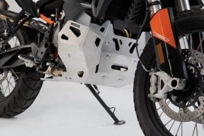 SW-MOTECH Skid Plate Engine Guard for KTM 790 Adventure / R | Silver