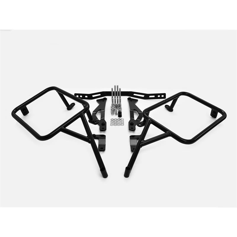 Zieger Luggage Rack Side Case Carrier Mounting for Triumph Tiger 900 Models '19-'21   Black