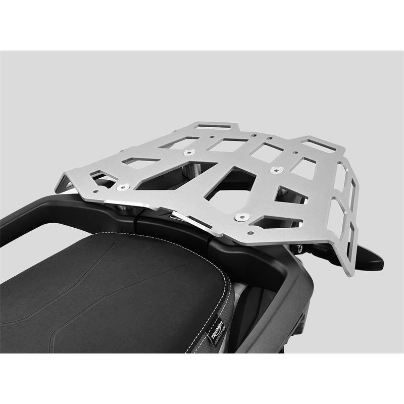 Zieger Luggage Rack Top Case Carrier Mounting for Triumph Tiger 900 / GT / GT Pro / Rally / Rally Pro '19-'21 | Silver